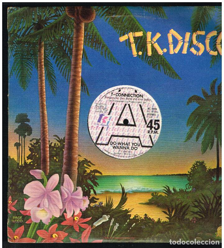 T-CONNECTION - DO WHAT YOU WANNA DO - MAXI SINGLE 1977 - ED. UK (Música - Discos de Vinilo - Maxi Singles - Pop - Rock Internacional de los 70)
