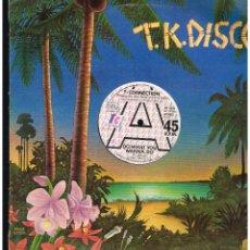 Discos de vinilo: T-CONNECTION - DO WHAT YOU WANNA DO - MAXI SINGLE 1977 - ED. UK. Lote 254961620