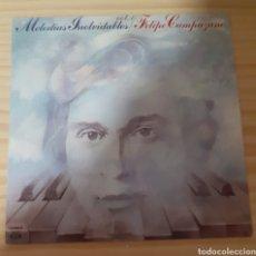 Discos de vinilo: MELODÍA INOLVIDABLE FELIPE CAMPUSANO. Lote 254962665