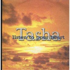 Discos de vinilo: TASHA - LISTEN TO YOUR HEART - MAXI SINGLE 1997 - ED. ITALIA. Lote 254963775