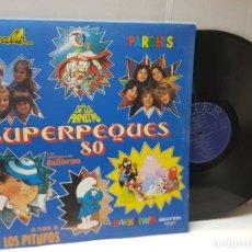 Discos de vinilo: LP-SUPERPEQUES 80- PARCHIS ETC EN FUNDA ORIGINAL AÑO 1980. Lote 254964235