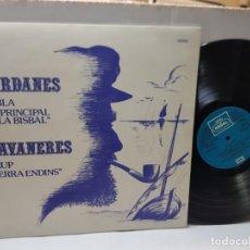 Discos de vinilo: LP 33 1/3-SARDANES-LA BISBAL EN FUNDA ORIGINAL AÑO 1980. Lote 254965260