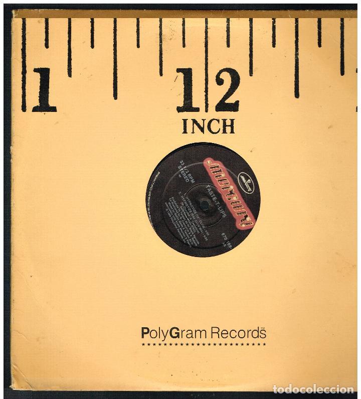 TASTE-T-LIPS - HYPNOTIZE - MAXI SINGLE 1988 - ED. USA (Música - Discos de Vinilo - Maxi Singles - Pop - Rock Internacional de los 70)