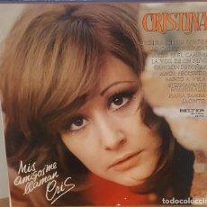Discos de vinilo: LP / CRISTINA - MIS AMIGOS ME LLAMAN CRIS, 1973. Lote 254965730