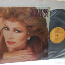 Discos de vinilo: LP -ROCIO JURADO-DESDE DENTRO EN FUNDA ORIGINAL AÑO 1983. Lote 254966105
