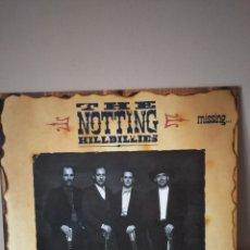 Discos de vinilo: THE NOTTING HILLBILLIES - MISSING...PRESUMED HAVING A GOOD TIME. LP CON ENCARTE.. Lote 254967415