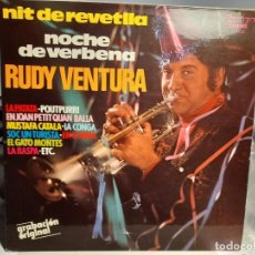 Discos de vinilo: LP RUDY VENTURA : NOCHE DE VERBENA ( LA PATATA, MUSTAFA CATALA, LA CONGA, LA RASPA, ETC ). Lote 254970820