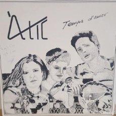 Discos de vinilo: LP / ATIC - TEMPS D'AMOR, 1986. Lote 254971550