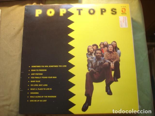 THE POP TOPS POP TOPS (Música - Discos - LP Vinilo - Grupos Españoles de los 70 y 80)