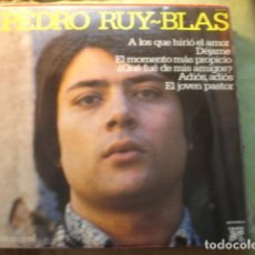 Discos de vinilo: PEDRO RUY-BLAS A LOS QUE HIRIO EL AMOR. Lote 254974395