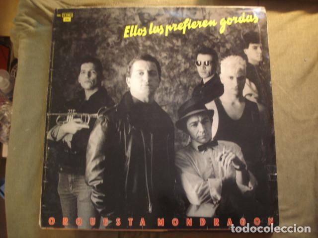 Discos de vinilo: Orquesta Mondragón Ellos Las Prefieren Gordas - Foto 2 - 254974775