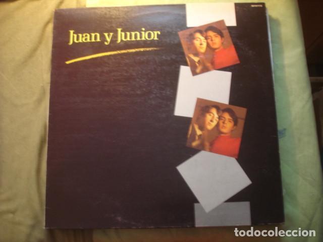 JUAN Y JUNIOR JUAN Y JUNIOR (Música - Discos - LP Vinilo - Grupos Españoles de los 70 y 80)