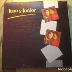 Discos de vinilo: JUAN Y JUNIOR JUAN Y JUNIOR. Lote 254978185