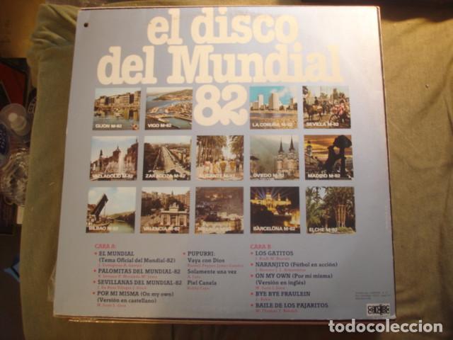 Discos de vinilo: Sabor Cuatro El Disco Del Mundial 82 - Foto 2 - 254978665