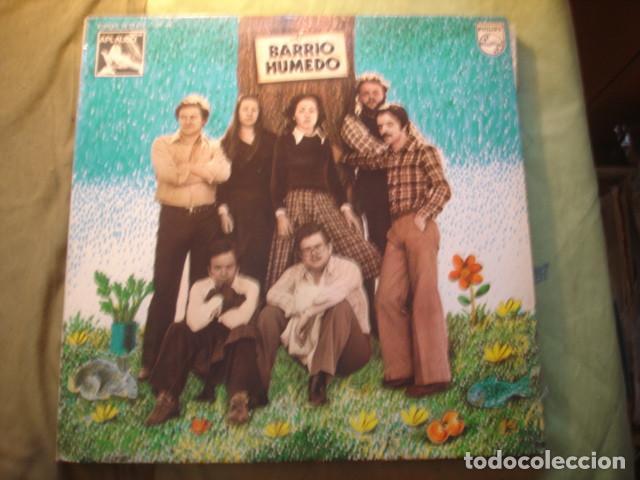 BARRIO HUMEDO BARRIO HUMEDO (Música - Discos - LP Vinilo - Grupos Españoles de los 70 y 80)
