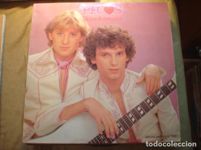 PECOS UN PAR DE CORAZONES (Música - Discos - LP Vinilo - Grupos Españoles de los 70 y 80)