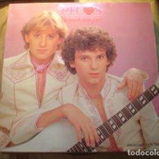 Discos de vinilo: PECOS UN PAR DE CORAZONES. Lote 254981440