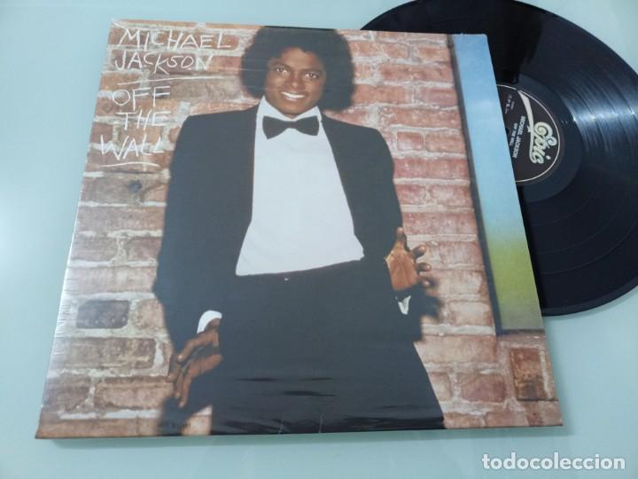 MICHAEL JACKSON - OFF THE WALL ...LP DE EPIC REEDICION 2017 ..VINILO DE 180 GRAMOS - NUEVO (Música - Discos - LP Vinilo - Funk, Soul y Black Music)