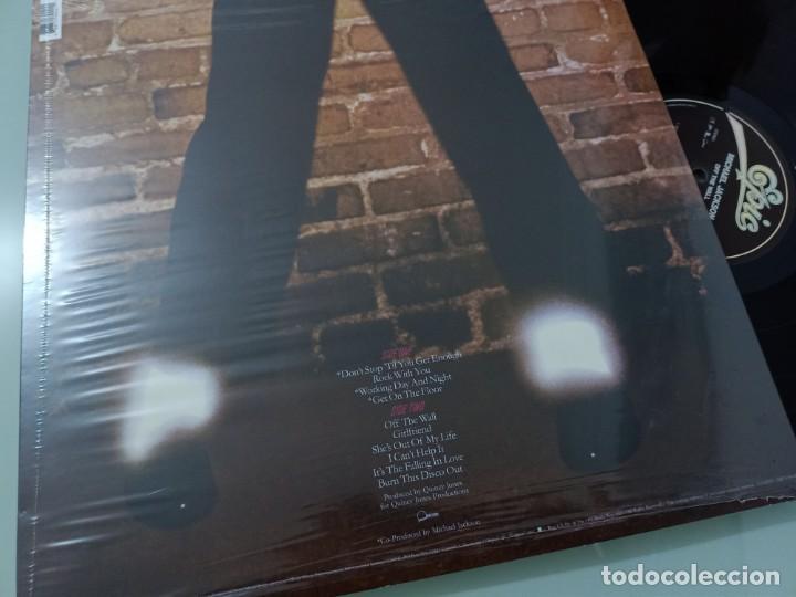 Discos de vinilo: MICHAEL JACKSON - OFF THE WALL ...LP DE EPIC REEDICION 2017 ..VINILO DE 180 GRAMOS - NUEVO - Foto 2 - 254982245
