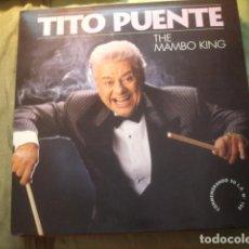 Discos de vinilo: TITO PUENTE THE MAMBO KING 100TH LP. Lote 254983165