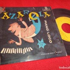Discos de vinilo: AZAROLA SU PIANO Y SU RITMO BOOGIN FLAMENCO / CHOLULA ..+2 7'' EP 195? MONTILLA ESPAÑA SPAIN. Lote 254983440