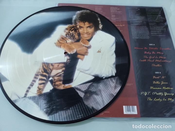MICHAEL JACKSON - THRILLER ..LP - PICTURE DISC DE 2008 - NUEVO (Música - Discos - LP Vinilo - Funk, Soul y Black Music)