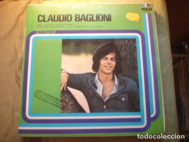 CLAUDIO BAGLIONI  CLAUDIO BAGLIONI (EN ESPAÑOL) (Música - Discos - LP Vinilo - Canción Francesa e Italiana)