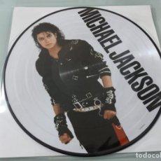 Discos de vinilo: MICHAEL JACKSON - BAD ..LP - PICTURE DISC DE 2018 - NEW&SEALED - NUEVO. Lote 254985390
