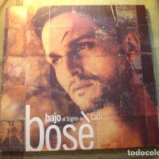 Discos de vinilo: BOSÉ BAJO EL SIGNO DE CAÍN. Lote 254987575