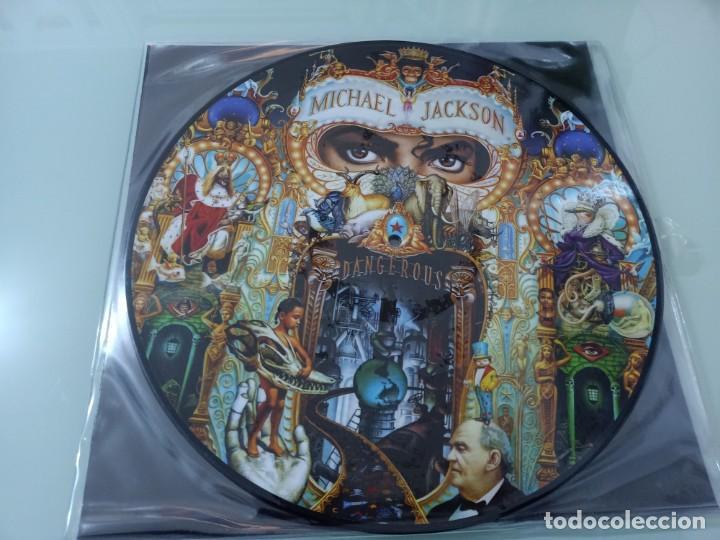 MICHAEL JACKSON - DANGEROUS ..2 LP ´S - PICTURE DISC - EPIC 2018 - NUEVO PRECINTADO (Música - Discos - LP Vinilo - Funk, Soul y Black Music)