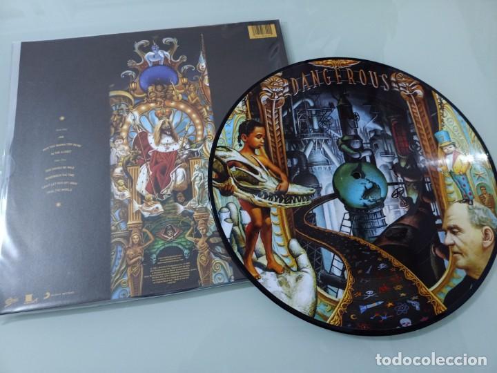 Discos de vinilo: MICHAEL JACKSON - DANGEROUS ..2 LP ´S - PICTURE DISC - EPIC 2018 - NUEVO PRECINTADO - Foto 3 - 254987615