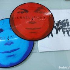 Discos de vinilo: MICHAEL JACKSON - INVINCIBLE + 2 PICTURE - 2 LP´S - TOTALMENTE NUEVO - VINILOS COLOR. Lote 254988580