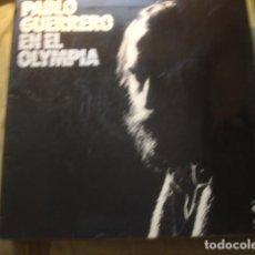 Discos de vinilo: PABLO GUERRERO  PABLO GUERRERO EN EL OLYMPIA. Lote 254988670