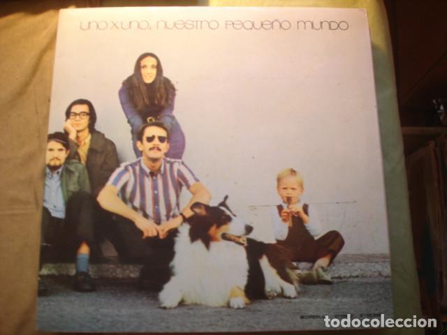 NUESTRO PEQUEÑO MUNDO UNO X UNO (Música - Discos - LP Vinilo - Grupos Españoles de los 70 y 80)