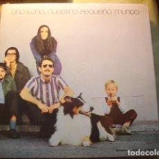 Discos de vinilo: NUESTRO PEQUEÑO MUNDO UNO X UNO. Lote 254989750
