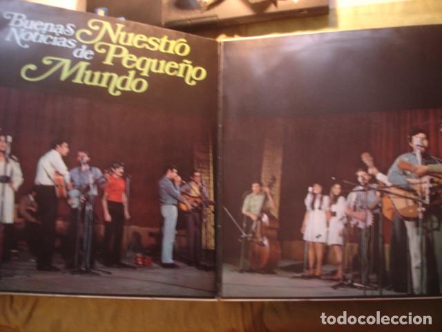 Discos de vinilo: Nuestro Pequeño Mundo  Buenas Noticias - Foto 2 - 254990195