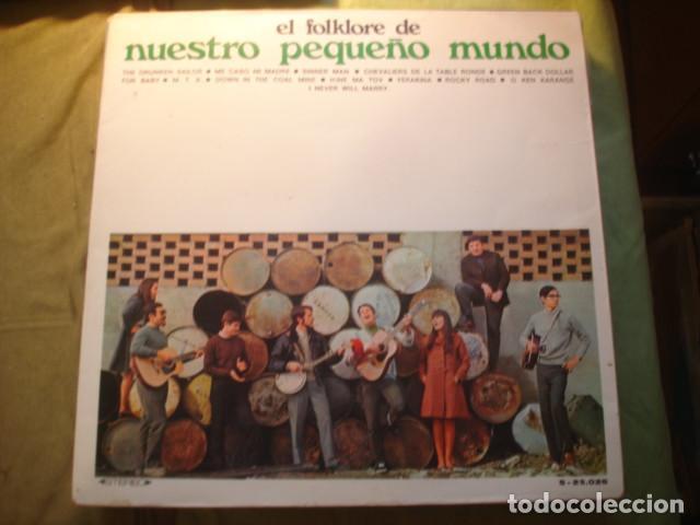 NUESTRO PEQUEÑO MUNDO EL FOLKLORE DE NUESTRO PEQUEÑO MUNDO (Música - Discos - LP Vinilo - Grupos Españoles de los 70 y 80)