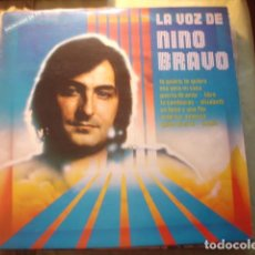 Discos de vinilo: NINO BRAVO LA VOZ DE NINO BRAVO. Lote 254990960