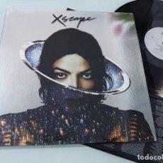 Discos de vinilo: JACKSON MICHAEL - XSCAPE ..LP DE VINILO - CON LETRAS Y POSTER - NUEVO DE SONY. Lote 254991665