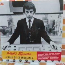 Discos de vinilo: PHIL'S SPECTRE - A WALL OF SOUNDALIKES . LP VINILO PRECINTADO. PHILS SPECTOR. ACE RECORDS. Lote 254992105