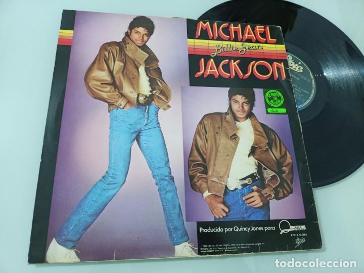 MICHAEL JACKSON - BILLIE JEAN .. MAXISINGLE - EDICION ESPAÑOLA DE 1982 - MUY ESCASO (Música - Discos de Vinilo - Maxi Singles - Funk, Soul y Black Music)