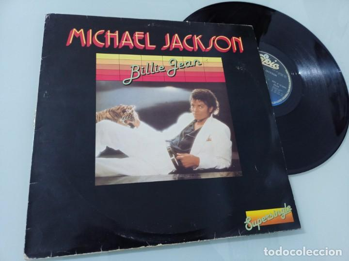 Discos de vinilo: MICHAEL JACKSON - BILLIE JEAN .. MAXISINGLE - EDICION ESPAÑOLA DE 1982 - MUY ESCASO - Foto 2 - 254993345