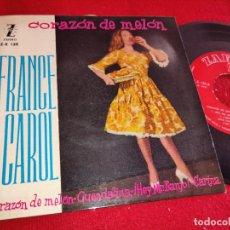 Discos de vinilo: FRANCE CAROL CORAZON DE MELON/GUENDALINA/¡HEY MISTER BANJO!/CARINA EP 1960 ZAFIRO. Lote 254993395