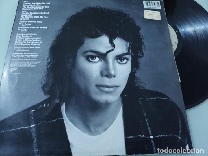 MICHAEL JACKSON - THE WAY YOU MAKE ME FEEL .. MAXISINGLE ESPAÑOL DE 1987 - BUEN ESTADO (Música - Discos de Vinilo - Maxi Singles - Funk, Soul y Black Music)