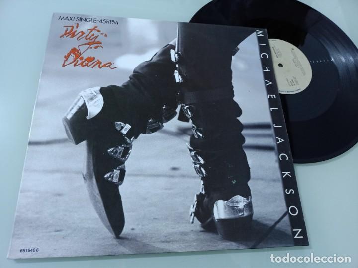 MICHAEL JACKSON - DIRTY DIANA ...MAXISINGLE - EDICIÓN ESPAÑOLA DE 1988 - MUY BUEN ESTADO (Música - Discos de Vinilo - Maxi Singles - Funk, Soul y Black Music)