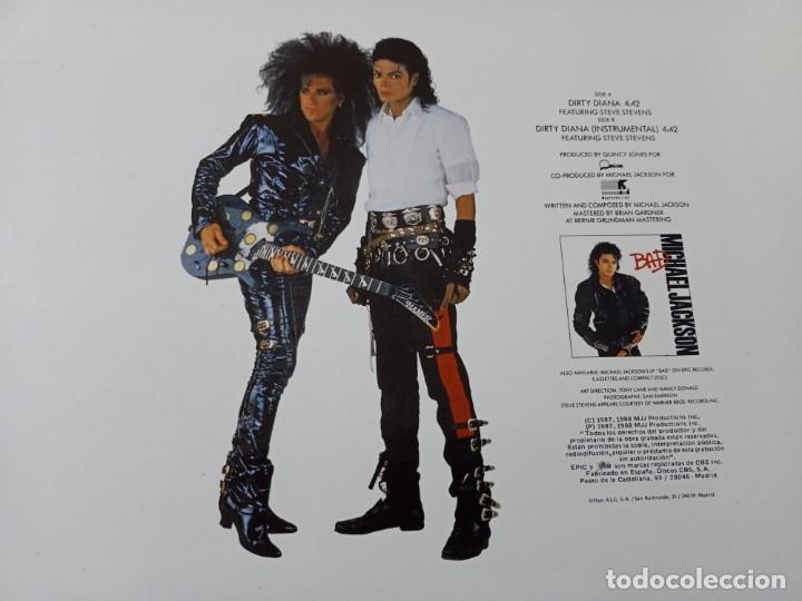 Discos de vinilo: MICHAEL JACKSON - DIRTY DIANA ...MAXISINGLE - EDICIÓN ESPAÑOLA DE 1988 - MUY BUEN ESTADO - Foto 2 - 254995625