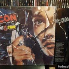 Dischi in vinile: ICON - NIGHT OF THE CRIME. Lote 254995860