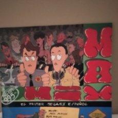 Discos de vinilo: MAX MIX, EL PRIMER MEGAMIX ESPAÑOL. MAX MUSIC PRODUCTIONS. MIXE PLATINAS Y J. USSIA.. Lote 254996580