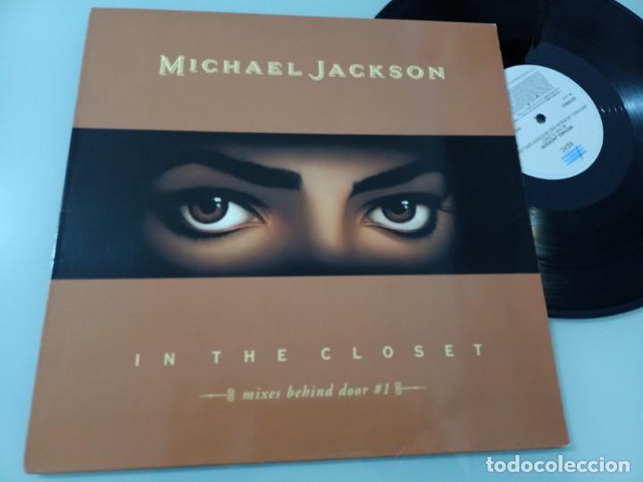 MICHAEL JACKSON - IN THE CLOSET ..MAXISINGLE - MIXES BEHIND DOOR 1 - EPIC - 1992 - BUEN ESTADO (Música - Discos de Vinilo - Maxi Singles - Funk, Soul y Black Music)