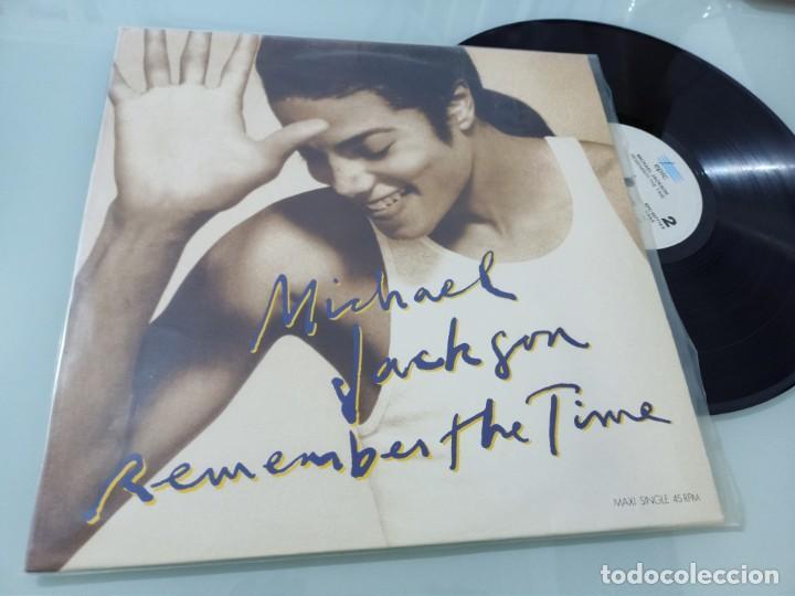 MICHAEL JACKSON - REMEMBER THE TIME - EDICION ESPAÑOLA - EPIC DE 1991 - MUY BUEN ESTADO (Música - Discos de Vinilo - Maxi Singles - Funk, Soul y Black Music)